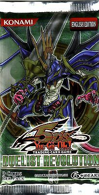 YU-GI-OH TCG Duelist Revolution PACK ENG EDITION NEW SEALED