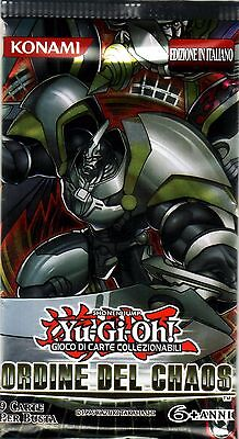 YU-GI-OH TCG Ordine del Chaos PACK ITA EDITION NEW SEALED