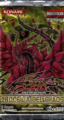 YU-GI-OH TCG Crocevia del Chaos PACK ITA FIRST PRIMA EDITION NEW SEALED