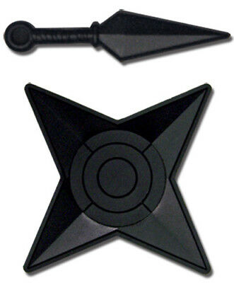 Naruto Shippuden Weapons Two PVC Pin Set, NEW UNUSED