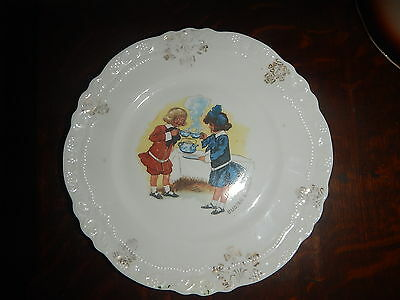BUSTER BROWN - Early Advertising Plate - Early 1900's estate old