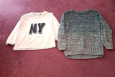 2 boys 18-24 months jumpers