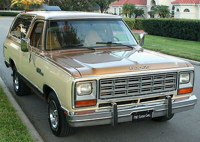 1985 Dodge Ramcharger PROSPECTOR - 7K MILES ORIGINAL  LOW MILE SURVIVOR -1985 Dodge Ramcharger - 7K ORIG MI