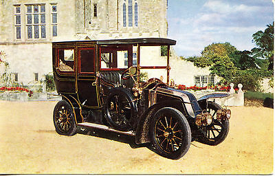 1906 Renault Antique Car-Vintage Automobile-Montagu Motor Museum-Postcard