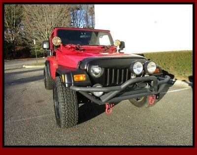 2004 Jeep Wrangler Unlimited 4x4 2004 Jeep Wrangler Unlimited 4x4 Flame Red  4.0L SMFI I6 Power Tech Engine