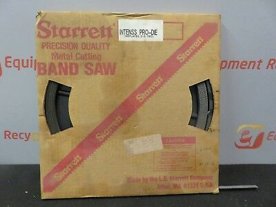"""Starrett 15395 Metal Cutting Band Saw Blade Coil  1/2"""" Wide Tooth VP"""