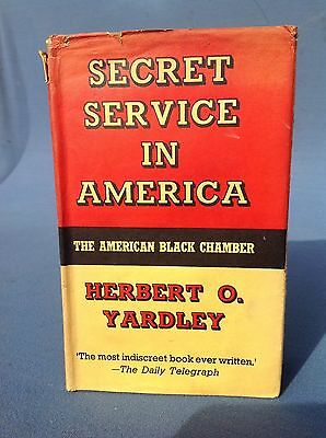 Rare 1937 Secret Service In America First Edition Uk Book Oss Soe Related Ww2