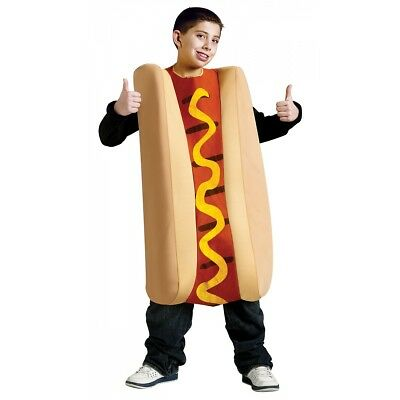 Hot Dog Costume Kids Halloween Fancy Dress