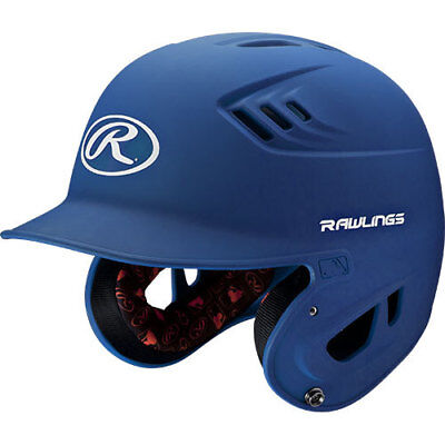Rawlings R16 R16MS-MR Senior (6 7/8 - 7 5/8) Matte Royal Batting Helmet