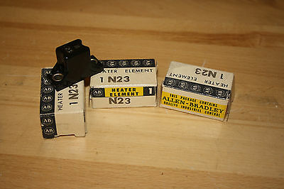 Allen-Bradley N23 Overload Heater Element **Lot of Three** New in box old stock