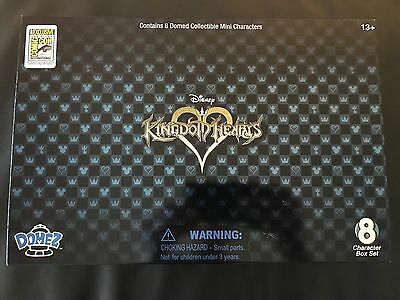 SDCC 2017 Exclusive UCC Kingdom Hearts Domez Disney 8 Pieces Figure Set In Hand