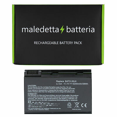 Batteria 10.8-11.1V 5200mAh EQUIVALENTE Acer AS10D75 AS10D7E AS10D81