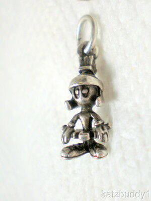Vintage Sterling Silver Warner Bros. Cartoon Marvin The Martian Charm