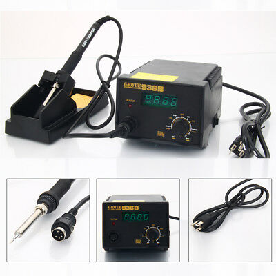 Gaoyue 936B 2in1 Electric SMD Rework Soldering Iron Station Welding ESD Kit 110V
