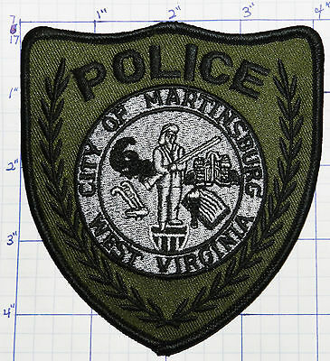 West Virginia, Martinsburg Police Dept Subdued Patch