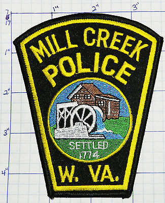 West Virginia, Mill Creek Police Dept Patch
