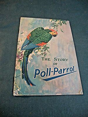 Vintage Advertising Booklet The Story Of Poll Parrot