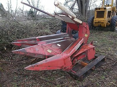 Gehl Silage Chopper Forage Harvester 3 Row Corn Head # Tr330