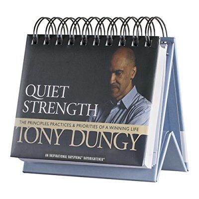 DaySpring Tony Dungy's Quiet Strength DayBrightener Perpetual Flip Calendar 366