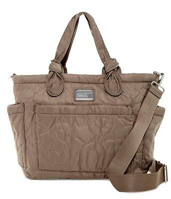 New with Tag - $298.00 Marc by Marc Jacobs Nylon Quartz Grey Eliza Baby Bag Tote