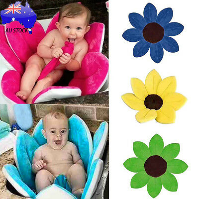 AU Blooming Flower Bath Tub for Baby Blooming Sink Bath For Kids Infant Lotus