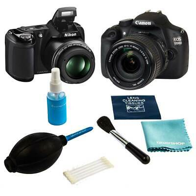6 PCS Camera, Lens and LCD Cleaning Kit for Classic SLR and Digital Cameras DSLR