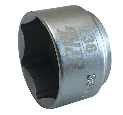 Autojack OFS36 Oil Filter Socket 36mm 3/8 Inch Square Drive Low Profile