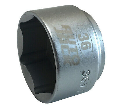 Low Profile Oil Filter Socket 36mm 3/8 Inch Square Drive