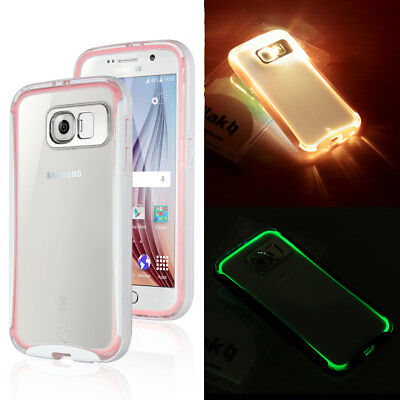 Ultra-Slim Shockproof Hybrid Clear Hard Case Cover for Samsung Galaxy S6