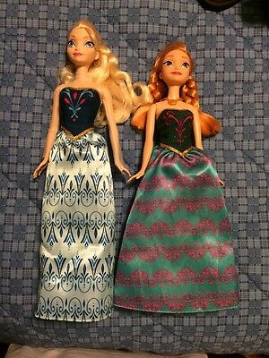 Princess Frozen Anna and Elsa Classic Dolls