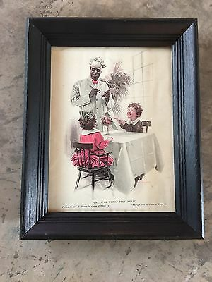 Vintage Cream of Wheat Ad From 1941 Framed