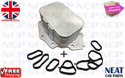 Citroen Berlingo C1 C2 C3 C4 Peugeot 107 206 207 208 307 308 1007 Oil Cooler