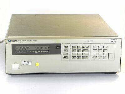 Agilent HP Keysight 6627A DC Power Supply, Quad-Output 40W, 20V/2A 50V/0.8A GPIB