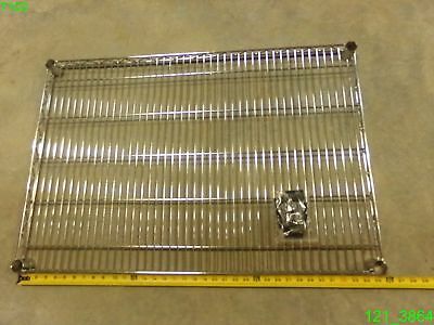 "Sandusky Lee 24"" X 36"" Chrome Super Heavy Duty Wire Shelf 2013052401 -New"