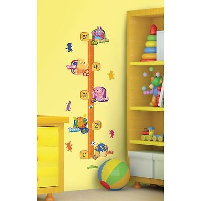Backyardigans Growth Chart Wall Decals