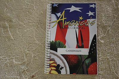 America's Home Cooking Cookbook- Casseroles- Great Recipes!