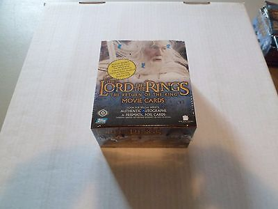 "Lord of the Rings: Return of the King SECOND EDITION ""Sealed Box"" of 36 Packs"