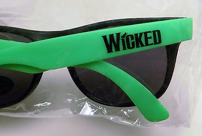 Wicked Broadway musical promo logo sunglasses glasses Elphaba green