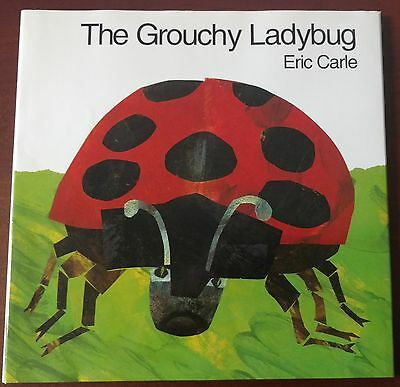 Hardcover The Grouchy Ladybug by Eric Carle