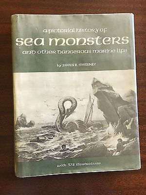 Pictorial History of SEA MONSTERS & MARINE LIFE James B Sweeney 372 ILLUS book