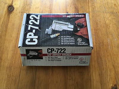 Chicago Pneumatic CP-722 3/8 Impact Wrench Gun Butterfly Swivel End Snap On