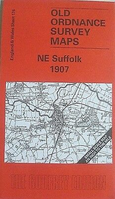 Old Ordnance Survey Maps NE Suffolk Lowestoft, Beccles Area Plan Wrentham 1907