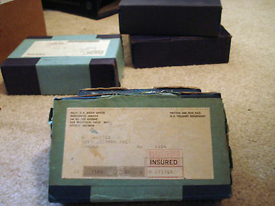 1965 Sms Shipping Box Of 10 Sealed Unopened Special Mint Sets Coin Silver Proof