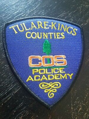 College of the Sequoias Academy Police Patch California CA