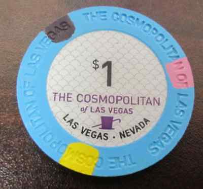 $1 THE COSMOPOLITAN of Las Vegas NV Casino Gaming Poker Chip Golf Ball Marker