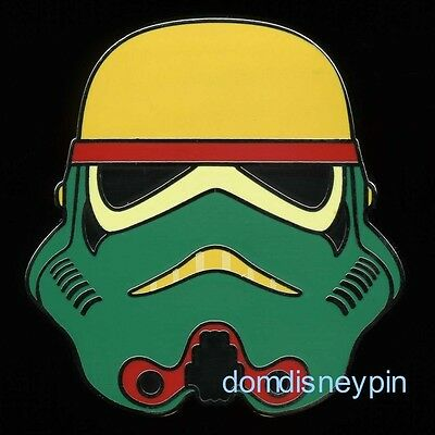 Disney Pin *Star Wars* Stormtrooper Helmets - Mystery Set - (Green Yellow Red)!