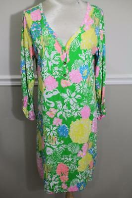 544479e8ae NWOT Lilly Pulitzer Women s Palmetto V-Neck T-Shirt Dress SIZE XL (DR1000
