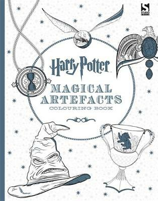 Harry Potter Magical Artefacts Colouring Book 4., Warner Brothers, New