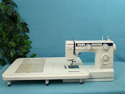 Industrial Strength Heavy Duty Sewing Machine +Ext Table Sews Upholstery Leather