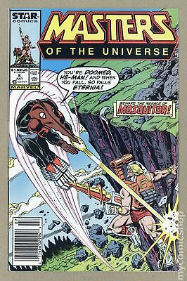 Masters of the Universe (1986 2nd Series Marvel/Star Comics) #8 FN- 5.5